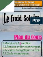 Cours Du Froid Solaire de Master01
