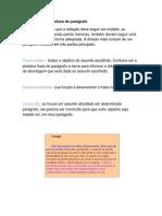 aspectos da redação e escrita