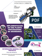 planta procesadora de arandanos peruanos