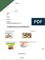 4 biomoleculas organicas