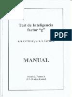 manual de cattell