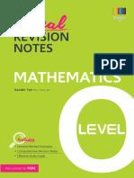 O Level Mathematics Revision Notes (SEAB).pdf