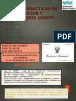 Buenas Practicas de Distribucion y Transporte (Bpdyt) Mary y Daicy