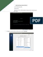 Como Instalar Linux Centos 7