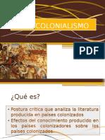 Pos Colonialismo