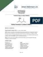 H.T MIBC Metil Isobutil Carbinol QA
