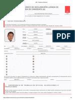 JNE - Plataforma Electoral