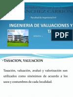Ingenieria de Valuaciones y Tasaciones - 2º Clase