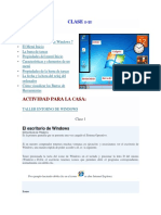 CLASE 1 Escritorio de Windows