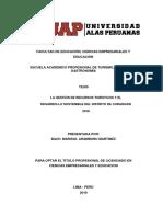 Tesis Estructura Marisol