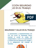 INDUCCIÓN SEGURIDAD Y SALUD EN EL TRABAJO