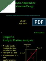 Position Analysis