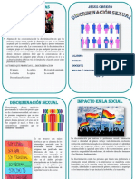 Diptico Discriminacion Sexual