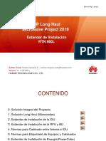 Estandar de Instalacion - MW Long Haul 2019 v.2