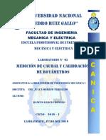 Medición de Caudal y Calibracion de Rotametros