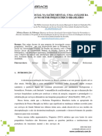 o Serviço Social Na Saúde Mental Uma Análise Da Profissao No Setor Psiquiatrico Brasileiro