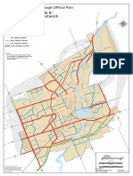 City of Peterborough draft Official Plan Schedule B Major Transportation