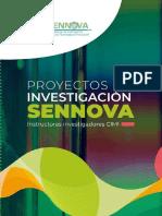 Referencia Bibliográfica Soporte Libro Proyectos Investigación SENNOVA CIMI