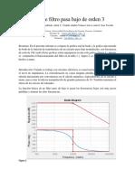 Informe Filtro Pasa Bajo (1)