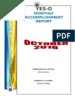 YES-O Accomplishment Report_Sept. 2016