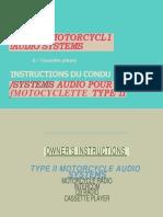 Honda Goldwing Clarion Type II Radio Operating Manual.pdf