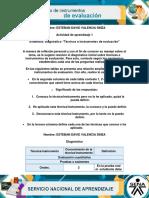 Diagnostico Técnicas e Instrumentos de Evaluación
