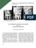 El comercio de las obras de arte en la Hispania Roma