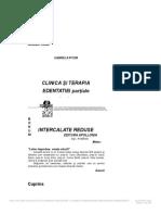 Clinica Si Terapia Edentatiei Partiale Intercalate Reduse 1 1.Docx