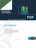 Sistemas de Información-Generalidades