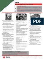 Red Cross Hurricane Preparedness Checklist