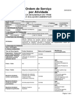 Ordem Serviço NR1 000038 INEX SERVIÇOS EIRELI 2019-03-29 Marcos Antonio Pereira