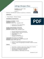 Currículo Rodrigo Borges 2019