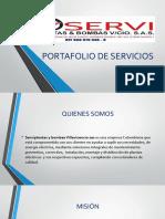 Portafolio de Servicios Serviplantas...