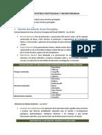01. Conservación Ecosistemas. Areas Silvestres Protegidas NOTAS