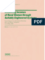 Enhancing Incomes of Rural Women through Suitably Engineered Systems