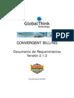 GBill Documento de Requerimientos 2.1.3
