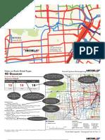 Houston Draft Network Plan Route