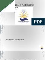 00 Inducción a Plataforma Educativa