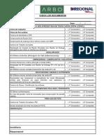 Check List Documentos - Arbo
