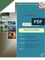 Informe Subcuenca Monzon