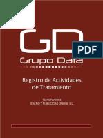 Registro de Actividades de Tratamiento de redes