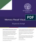 Memory Recall Script