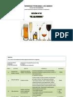 1.- Alcohol Esquema