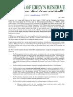 COER NEPA Lawsuit Press Release 7-9-19
