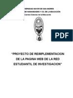 Proyecto de Red Estudiantil Web