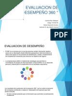 Evaluacion de Desempeño 360