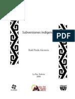 Subversiones indígenas