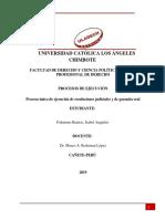 Proceso Ejecucion Ejecucion Procesos de Ejecucion y de Garaantia Real Isabelpalomino