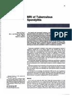 5. MRI of Tuberculous TB