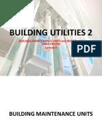 Lecture 5 - Building Utilities 2 - Bmus